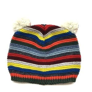 3/$25 Baby Gap Colorful Striped Knit Hat